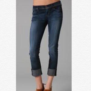 Citizens of Humanity Dani Crop Straight Leg Jeans.